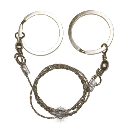 Wire Saw, Stainless Cutting Wire With 2 Ring Swivel Points