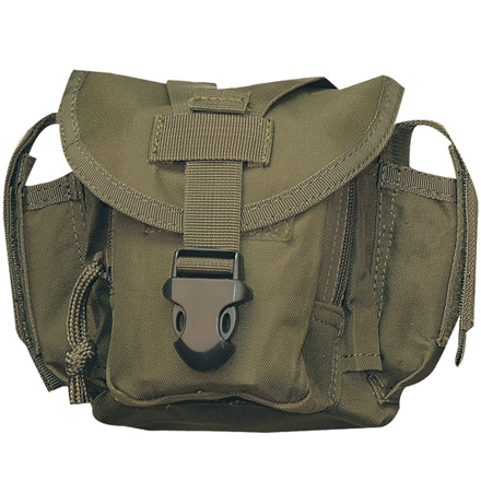 "Image for Dump Pouch 9""x9""x2"" Attach to Vest or Range Bag Olive Drab"