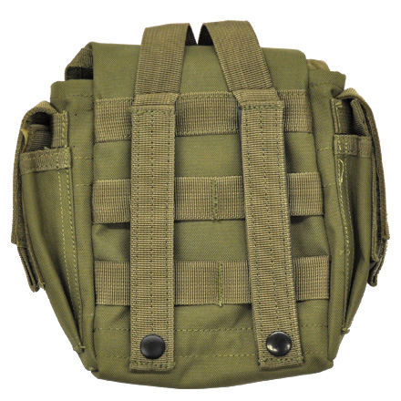 "Dump Pouch 9""x9""x2"" Attach to Vest or Range Bag Olive Drab"