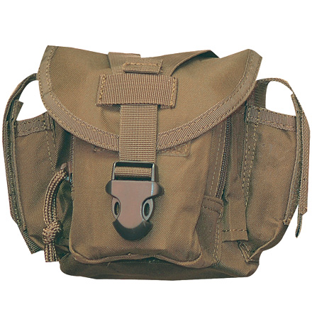 "Image for Dump Pouch 9""x9""x2"" Attach to Vest or Range Bag Coyote Tan"