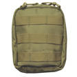 "EMT Pouch 7""x7""x2.5"" Olive Drab Made for Universal Vest"