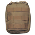 "EMT Pouch 7""x7""x2.5"" Coyote Tan Made for Universal Vest"