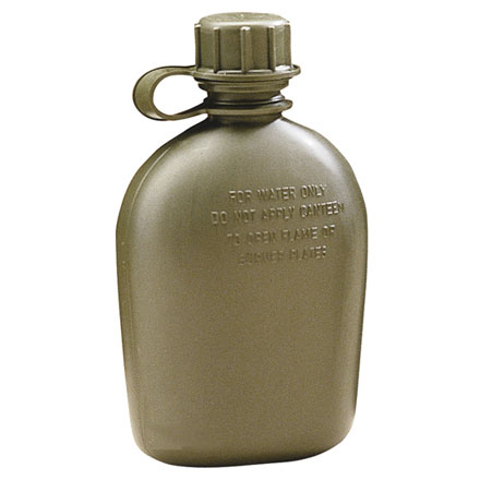 Canteen, GI 1 Quart 3 Piece - Olive Drab