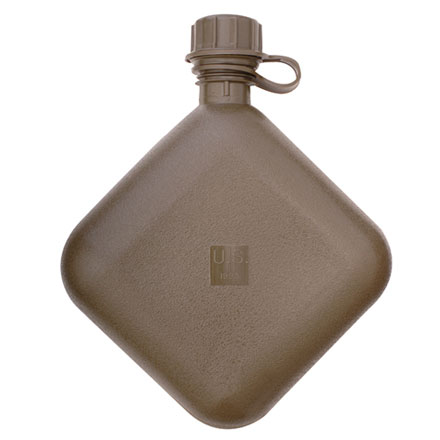 Image for Canteen, GI 2 Quart Collapsible - Olive Drab