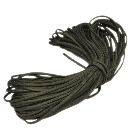 Image for 550 Paracord, 7 Strand Core OD-100ft, Commercial MFG by Govt Contractor