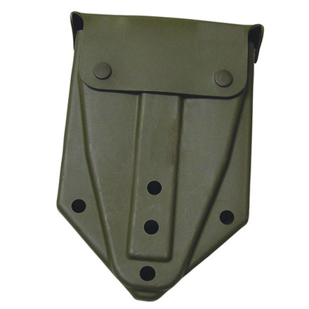 E-Tool (Shovel) Cover Heavy Pl astic, Olive Drab (Includes 2  ALICE Clips)