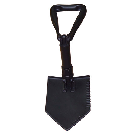 E-Tool (Shovel) 3-Fold, Black Metal (Entrenching Tool)