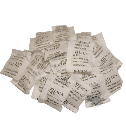 Silica Gel Desiccant Pack 24 Packs Per Bag