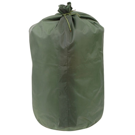 "Waterproof Bag, GI Spec With Drawstring Closure 16""X24"" Olive Drab Nylon"