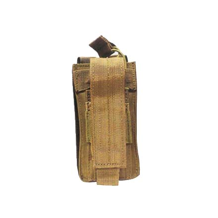 Open Top Single Mag Pouch Coyote