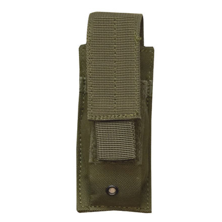 Image for Single Mag Pistol Pouch With Adjustable Retention Strap Olive Drab Nylon