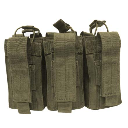 Open Top Triple Mag Pouch Olive Drab