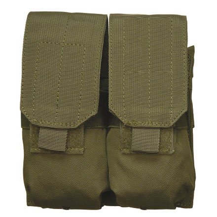 "Image for M14/M16 Double Mag Pouch Olive Drab 7""x7""x2"" (AR Double Mag MOLLE Pouch)"