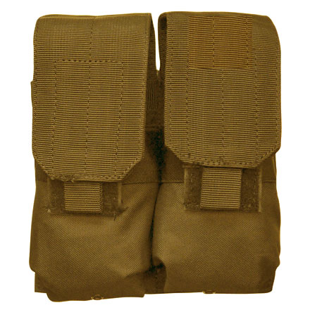 "Image for M14/M16 Double Mag Pouch Coyote Tan 7""x7""x2"" (AR Double Mag MOLLE Pouch)"