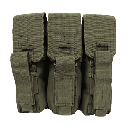 Image for AK-47 Triple Mag Pouch Olive Drab