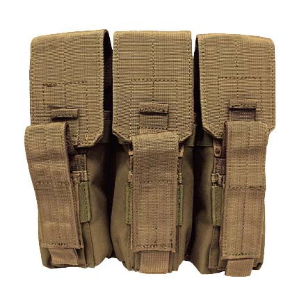 Image for AK-47 Triple Mag Pouch Coyote