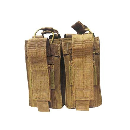 Open Top Double Mag Pouch Coyote