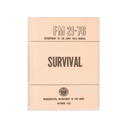 Image for US Army Survival Manual FM 21-76 (287 Pages)