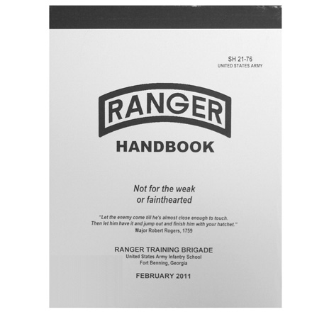 Image for 2011 Ranger Handbook (250 Pages)