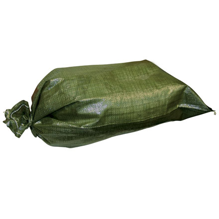 Sandbags, 100% Polypropylene With Sewn-In Tie Cord 25 count