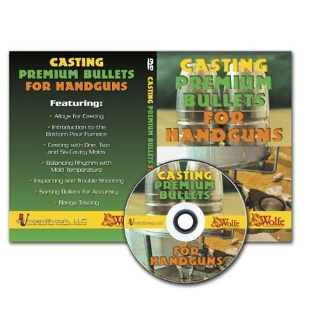 Image for Casting Premium Handgun Bullets DVD