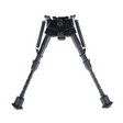 "Bipod 6""-9"" Lightweight Fixed With Quick Detach Sling Swivel Stud Mount"