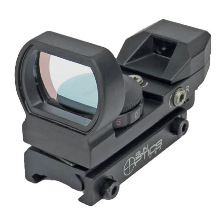 Image for 23x33mm Reflex Sight With 4 Reticle Selections (Matte Finish)