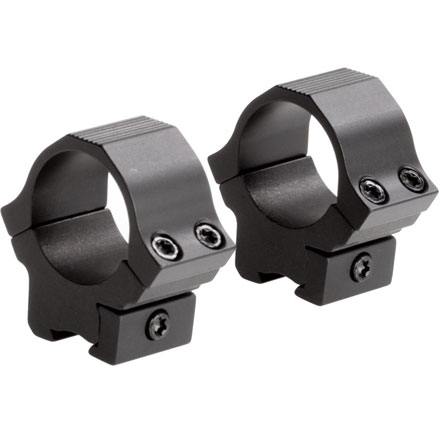 "Image for 1"" Rimfire/Airgun Sport Rings 3/8"" Dovetail Low Matte Finish"