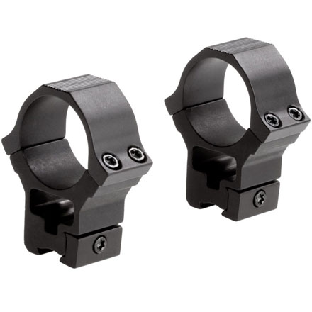 "Image for 30mm Rimfire/Airgun Sport Rings 3/8"" Dovetail High Matte Finish"