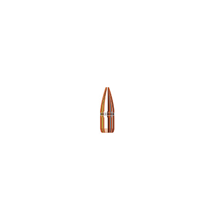 Image for 22 Caliber .224 Diameter 52 Grain Boat Tail Hollow Point With Cannelure 6000 Rounds
