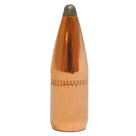 22 Caliber .224 Diameter 55 Grain Soft Point Bevel Base With Cannelure 250 Count