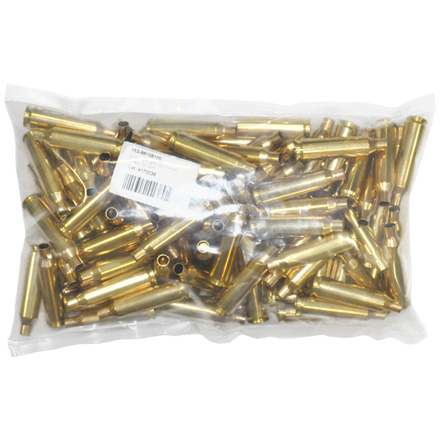 22-250 Remington Unprimed Rifle Brass 100 Count