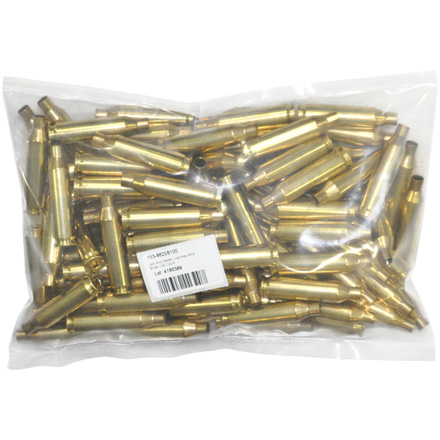 243 Winchester Unprimed Rifle Brass 100 Count