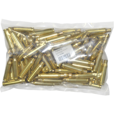 7mm-08 Remington Unprimed Rifle Brass 100 Count
