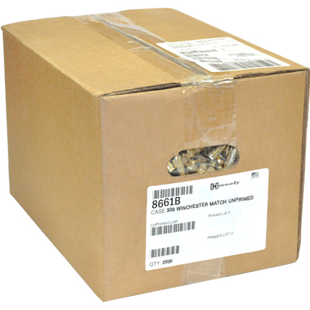 308 Winchester Match Unprimed Rifle Brass 2,000 Count