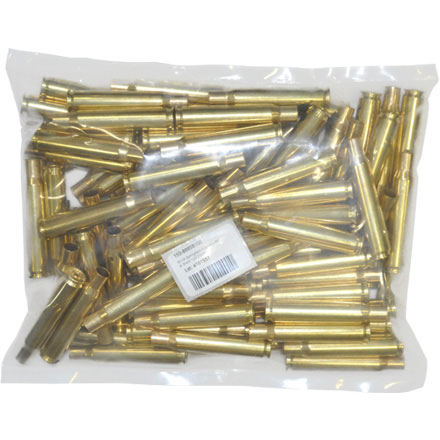 Image for 300 Winchester Mag Unprimed Rifle Brass 100 Count