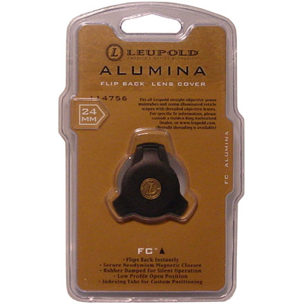 Alumina Flip Back Lens Cover 24mm