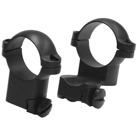 30mm Ruger M77 Extension Rings High Matte Finish