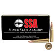 6.8mm SPC 110 Grain SSA Solid Copper Hollow Point 20 Rounds