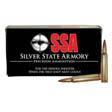 6.8mm SPC 85 Grain SSA Solid Copper Hollow Point 20 Rounds
