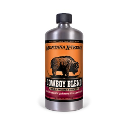 Montana X-Treme Cowboy Blend Lead and Powder Solvent 20 Oz