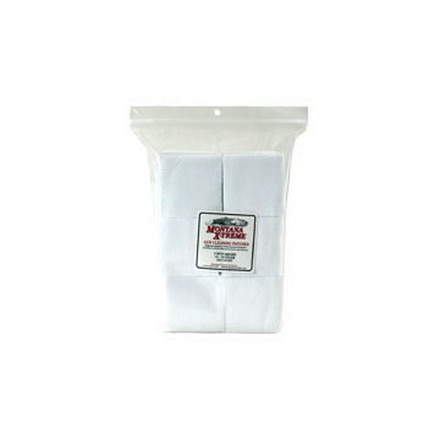 "17-22 Caliber 3/4"" Square Cotton Flannel Cleaning Patch 1,000 Count"