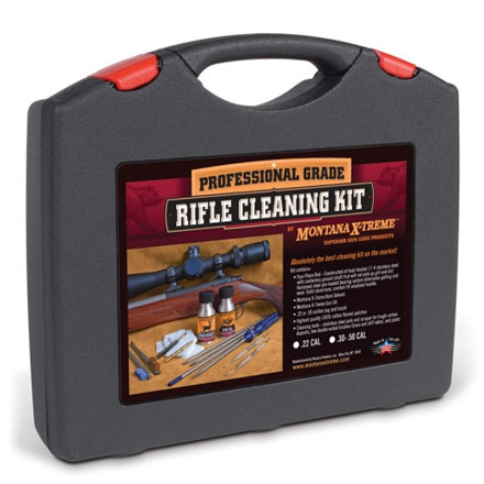 .22-.264 Caliber Cleaning Kit With Sectional Rod