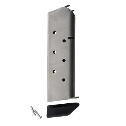 Image for 1911 Shooting Star Classic Mag 8 Round Stainless Finish With Pad