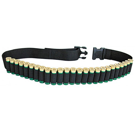 Shotgun Shell Belt Holds 25 Shotshells
