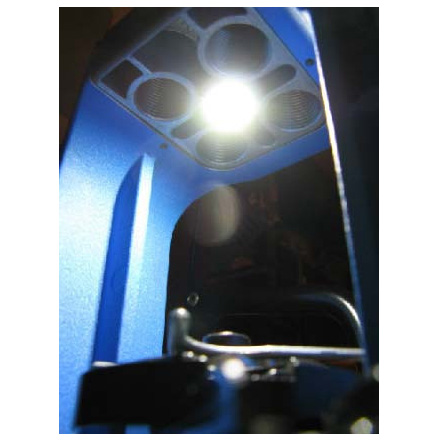 Skylight LED Shellplate Lighting System for the Dillon 550 Press