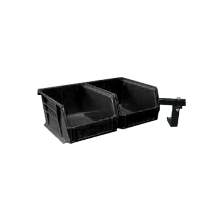 Universal Double Bullet Tray System - Black Trays