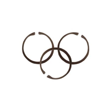 Gas Rings, Set of 3 for AR-15