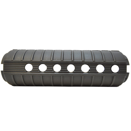 AR-15 Carbine Length Round Handguards With Heat Shields