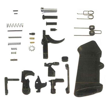 AR-15 Complete Lower Parts Kit With Standard Trigger